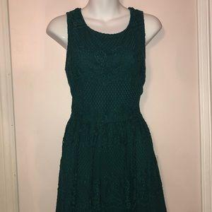 Forever 21green dress